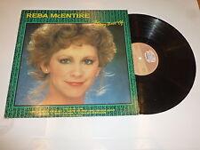 REBA McENTIRE - The very best of Reba McEntire - 1987 UK 14-track Vinyl LP