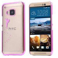 HTC One M9 hard shell custodia protettiva rigido case cover fata