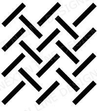 Tread Pattern Stencil, Tread, Wall Stencil ,Mylar Stencil, Reusable, Painting