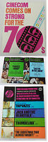 1970s distributors movie promo McMASTERS, PERFECT FRIDAY, CONNECTING ROOMS, more