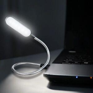 Portable USB LED Mini Book Light Reading, light for Power Bank Laptop Notebook