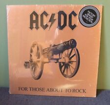 "AC/DC ""For Those About To Rock"" LP 1981 Sealed SD 11111 Record Club"