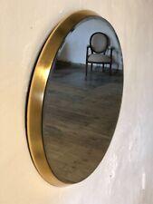 Glace / miroir Céline rond doré Diamètre 54 cm