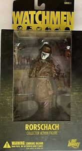 DC Direct DC Comics Watchmen Movie Rorschach Series 1 Action Figure