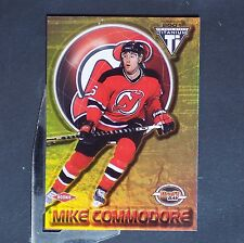 MIKE COMMODORE /1000 RC 2000-01 Titanium Draft Day #173 New Jersey Devils Rookie