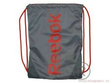 Reebok Gym Sack Drawstring Backpack Grey & Red