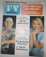 Tv Radio Mirror Magazine John F. Kennedy & Yelly Savalas January 1975 072314R
