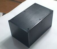 NEW Black DYT Full Aluminum Enclosure amp case /Preamp box/PSU chassis L154