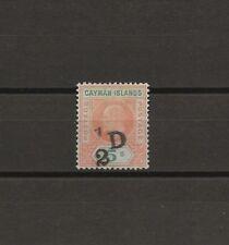CAYMAN ISLANDS 1905 SG 18 MINT Cat £300