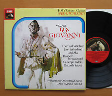 SXLP 30300 Mozart Don Giovanni Sutherland Giulini Highlights HMV Stereo NM/EX