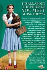 WIZARD OF OZ ~ FRIENDS YOU MEET ALONG THE WAY ~ 24x36 MOVIE POSTER NEW/ROLLED!