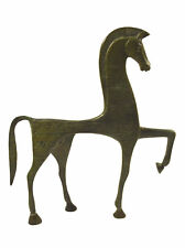 Proud Horse bronze sculpture with carvings - Symbol of wealth and status