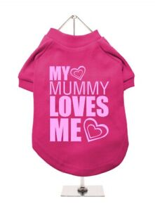 Dog Jumper Urban Pup My Mummy Loves Me Medium 30cm