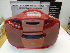 microstar Stereo Radiorecorder mit CD - NEU