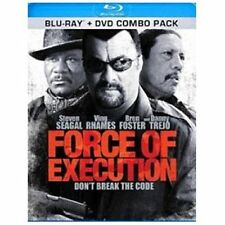 Force of Execution (Blu Ray,2013)-Steven Seagal-Ving Rhames-Danny Trejo
