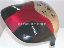 NEW RED SQUARE 10.5 STIFF GRAPHITE 460cc TI TITANIUM DRIVER GOLF CLUB HEADCOVER