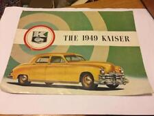 The 1949 Kaiser Frazer Automobile Sales Brochure Booklet Original