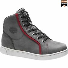 Harley Davidson Women's Mackey Riding Sneakers / Trainers Grey, D86069 UK 7