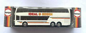 "Herpa 830462 HO Setra S228DT double deck Coach ""Idéal Reisen"" 1/87 Neuf"