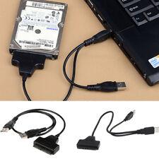 USB 2.0 SATA 2.5 Disk HDD Drive cavo rigido Adattatore Converter Cable gw