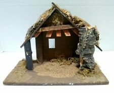 "Vintage Fontanini Nativity Stall Manger Creche Italy 5"" Compatible"