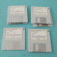 """Vintage Lot Of 11 Digital Research Inc. GEM Disks 3.5"""" Operating System"""