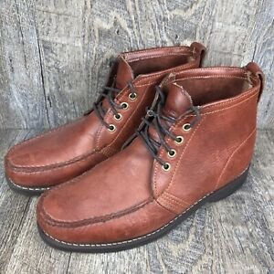 Gokey Company Vintage Men's King B Leather Shoes Boots Size 10.5E Chukka Hunting
