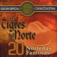 Los Tigres del Norte - 20 Nortenas Famosas [New CD]