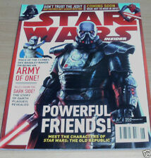 January Star Wars Science Fiction Magazines