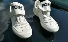 VINTAGE 70s Pony Leather Football Cleats Shoes MENS Size 9