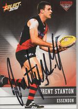 Brent Stanton Hand Signed 2012 Essendon Bombers AFL Card