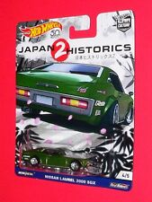 Hot Wheels NISSAN LAUREL 2000SGX CAR CULTURE JAPAN HISTORICS 2 FLC05 Real Riders