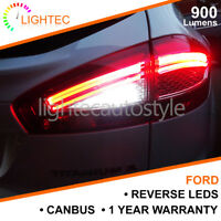 2x FORD MONDEO MK4 CANBUS REVERSE LED LIGHT KIT UPGRADE BRIGHT PURE WHITE BA15S