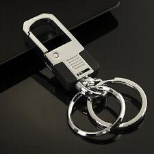 Keychain Key Chain Ring Keyfob Accessories Men's Fashion Alloy Metal Car Keyring