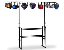 STATIVO A 'T' SUPPORTO ELEVATORE LUCI PAR EFFETTO LUCE all in one STAND DJ LIVE