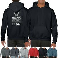 Funny Hoodie Mechanic hourly rate Great Sarcastic Gift