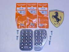 Ferrari 308 Racing Brake_Clutch Pedal Covers_OMP_Fastener Screws_Nuts_Genuine