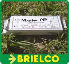 BALASTRO ELECTRONICO 12V 18W 1.5A PARA TUBOS FLUORESCENTES T8MM 60CM SOL BD6278