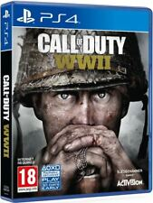 COD WW2 CALL OF DUTY WII PS4 Playstation 4 New Sealed