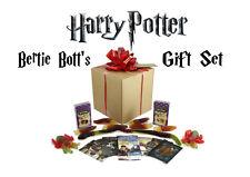 HARRY POTTER BERTIE BOTT'S GIFT SET ,SPIDER, SNAKE SLUGS CANDY. MOVIE CARDS