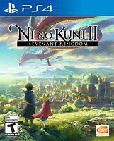 PLAYSTATION 4 PS4 VIDEO GAME NI NO KUNI II REVENANT KINGDOM BRAND NEW