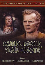 DANIEL BOONE, TRAIL BLAZER~1956 NEW SEALED DVD~FARON YOUNG BRUCE BENNETT