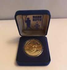 Babe Ruth Sultan of Swat Republic of Liberia 1994 Baseball Coin