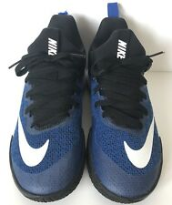 fdab1296180 NIKE Womens Zoom Shift Basketball Shoe 917731-400 Blue Black White Womens Sz  7.5
