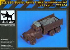 Blackdog Models 1/72 SOVIET ARMY ZIL 157 TRUCK ACCESSORIES Resin Detail Set