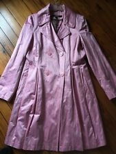 DKNY ladies pink spring coat size S
