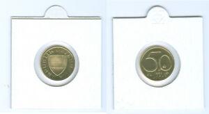 Autriche 50 Centime Pp Bzw. Main Levée ( Choisissez Entre 1964 - 2001)