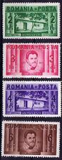 Romania 1937 Rumänien Mi 524-527 Satz Ion Creanga postfrisch ** MNH