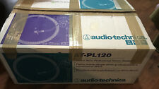 Audio-Technica AT-PL120 Direct Drive Professional Stereo Turntable System NOS