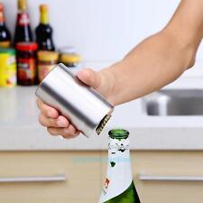 Stainless Steel Automatic Bottle Opener Beer Cap Wine Bottle Opener Bar Tool